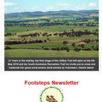 Footsteps Newsletter - April 2018 - banner