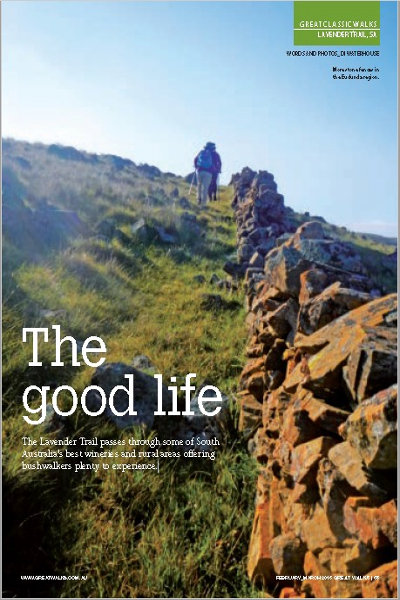 The Good Life - Great Walks Magazine - cover