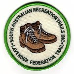 Lavender Federation Trail - Cloth Badge