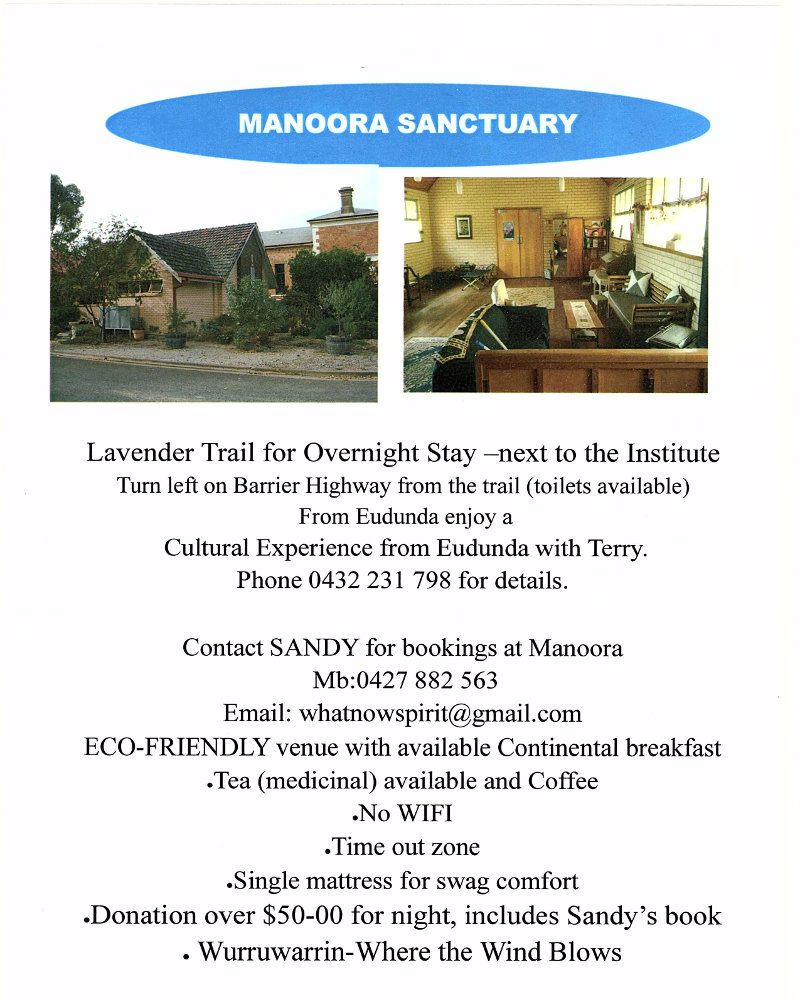 Manoora Sanctuary Flier May 2018