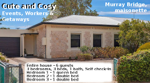 Cute and Cosy - Murray Bridge - airbnb
