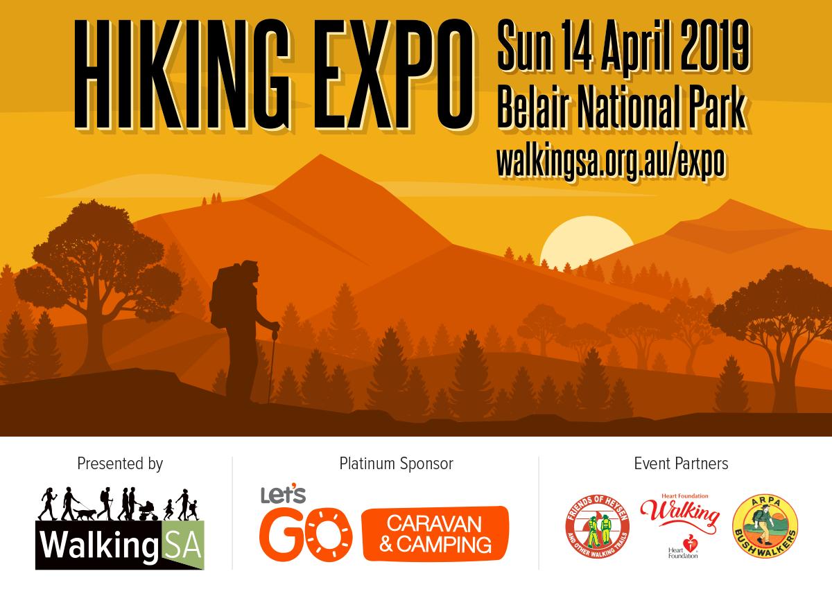 Hiking Expo - Opening of the Bushwalking Season - 14 April 2019