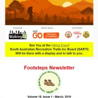 Lavender Federation Trail - Footsteps - Vo 1 -Issue 1 - March 2019 - Released