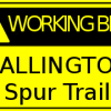 WORKING BEE: First day of building Callington Spur Trail – Sat 20th July 2019