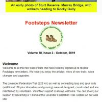 Footsteps Volume 18 Issue 3 - Oct 2019 Screen snap