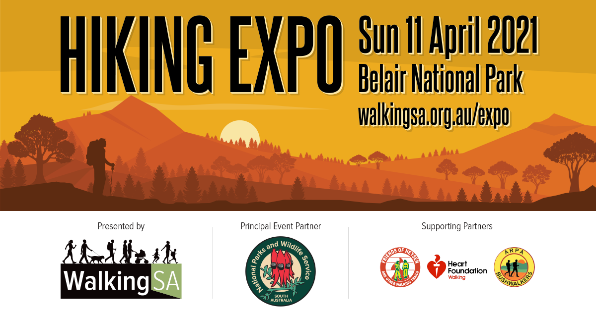 Hiking Expo - Sun 11 April 2021