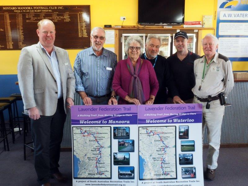 Webb Gap to Manoora Official Opening of Lavender Trail Section - photo Graham Hallandal